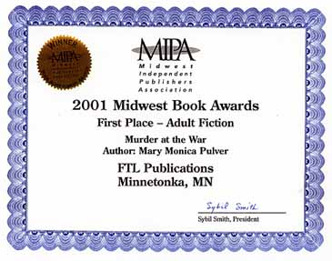 MIPA Award for Murder at the War
